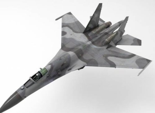 Su27 Flanker Aircraft