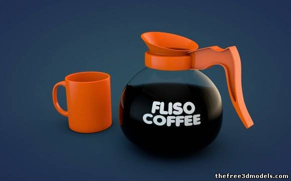 Fliso Coffee Pot