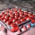 Fruit Cherries Free 3d Model