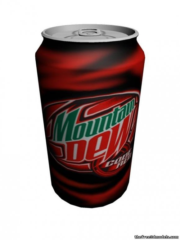Soft Drink Soda Can