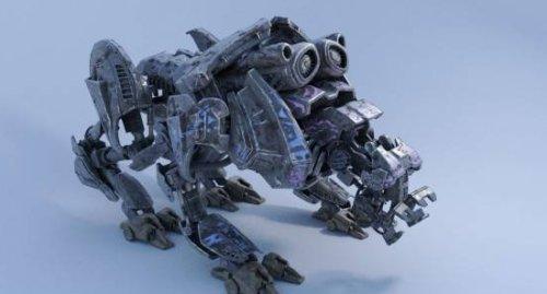 Quad Bot Character