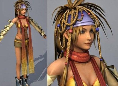 Rikku Final Fantaxy Character