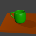 Ceramic Coffee Cup Free 3d Model