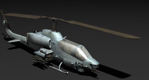 Helicóptero Ah1 Cobra