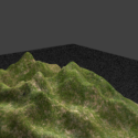 3D bjerg