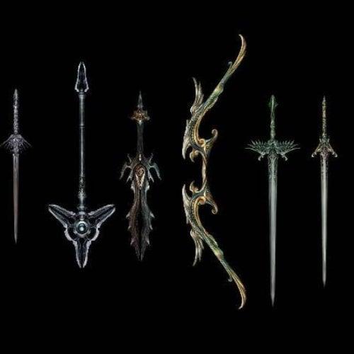 Espadas de juego