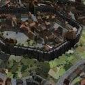 Medieval City Exterior Scene