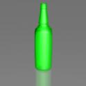 Glass Bottle Free 3d Model