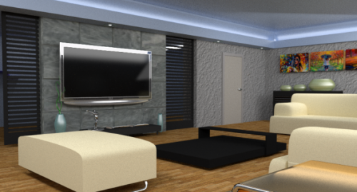 Interior Design Interior Scene 3d Model 3ds Fbx Obj Open3dmodel 10007
