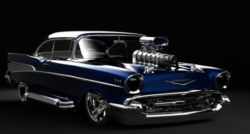 Chevy Supercharged Car