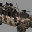 Military Offroad Car 3d Model Free