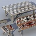 Garden Furniture Free 3d Model