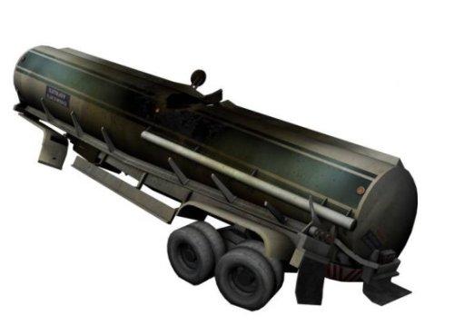 Fuel Tanker Wrecked Free 3d Model Id10120 Free Download Obj