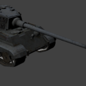 Tiger Heavy Tank Free 3d Model