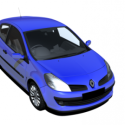 Renault Clio Car 3d Model