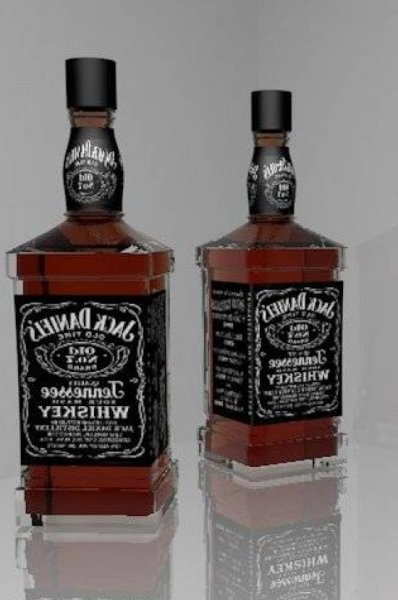 Jack Daniel Wine Bottle