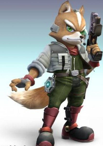 Character Fox With Gun