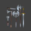 Mittelalterliche Schwertwaffen