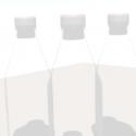 Garrafa de vidro de leite