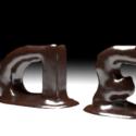Animazione di testo al cioccolato
