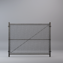 Metal Grid Fence
