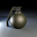 Grenade Free 3d Model
