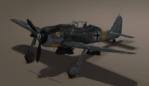 Avión alemán Fw190