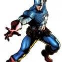 Captain America Character 3d Model