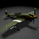 P51 موستانج الطائرات