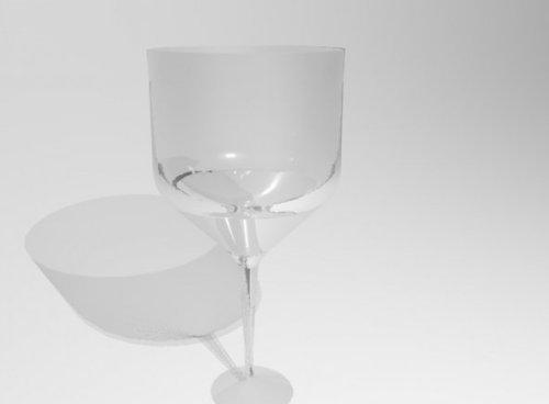 Glass Wine Cup.