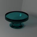 Glass Fruit Bowl Free 3d Model