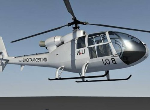 Helicóptero Gazelle Sa342