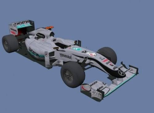 Coche Mercedes F1