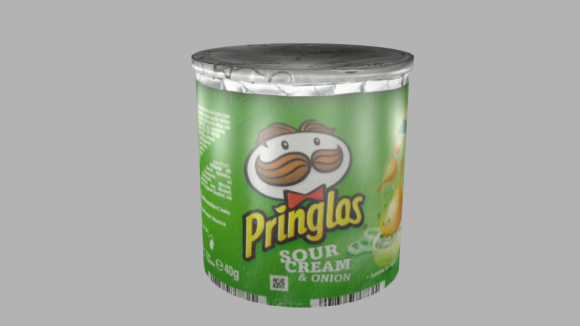 Pringles Can Free 3d Model