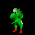 Personaje de dibujos animados de Yoshi