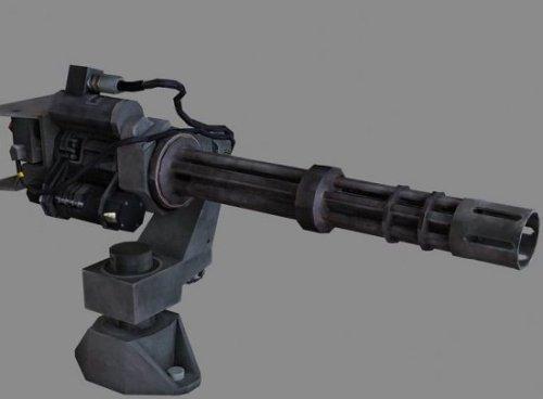 Minigun Silah