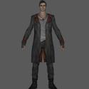 Dante Man Character Free 3d Model