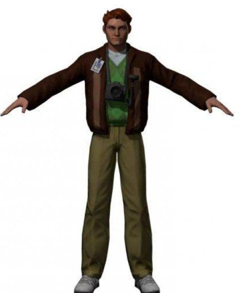 Jimmy Olsen Man Character