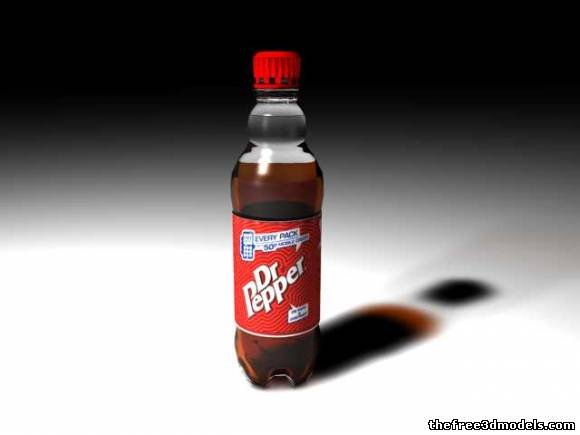 Dr Pepper Drink Bottle