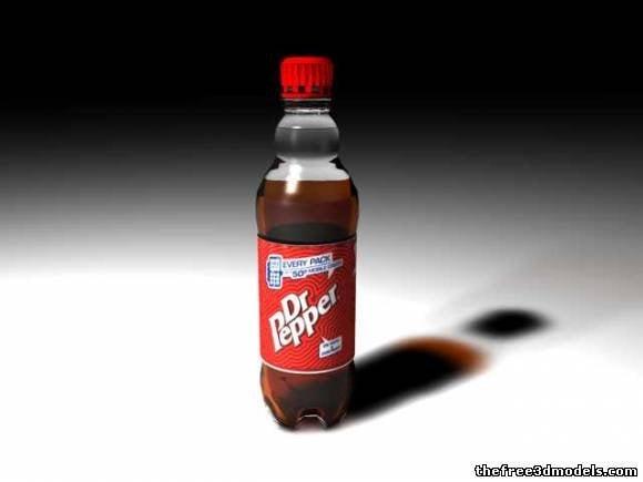 ドクターペッパードリンクボトル
