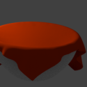 Bowl With Cloth Free 3d Model