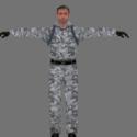 Sean Connery Winter Free 3d Model