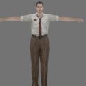Ben Bertolucci Free 3d Model