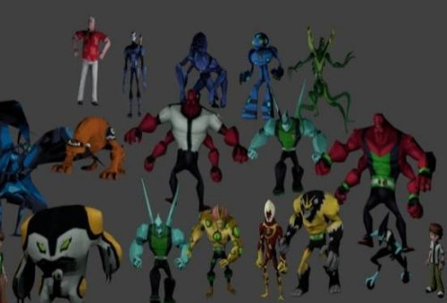 Super Hero Characters Pack