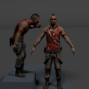 Farcry 3 Vass :) Free 3d Model