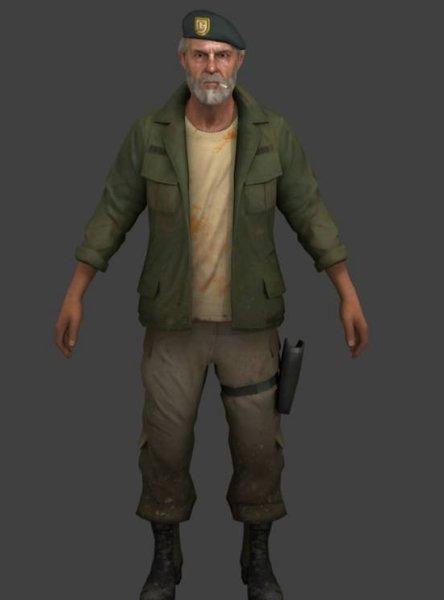 Bill Old Man Character