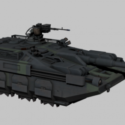 Hover Tank Free 3d Model