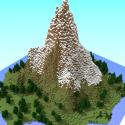 Minecraft World Scene