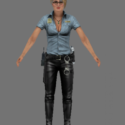 Cybil Bennett Free 3d Model