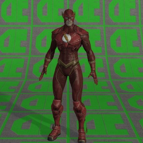 Dc Comic Flash Character